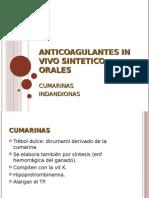 Anticoagulantes in Vivo Sintetico Orales