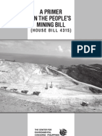 Primer on the People's Mining Act of 2011