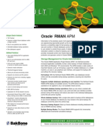 APM for Oracle RMAN