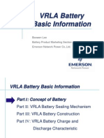VRLA Battery Basic Information