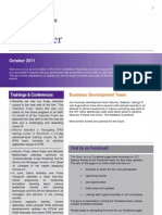 Gt Newsletter October 2011