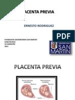 Placenta Previa.