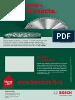 Bosch Scule de Taiere
