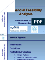 Financing Feasibility Analysis - Presentation