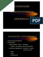 EchographieInterventionnelle