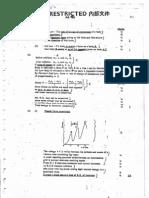 AL 1992 Physics Marking Scheme