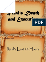 Rizal's Death and Execution