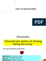 Theories of Personality....by A K