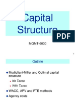 WACC Capital Structure