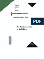 The Radio Chemistry of Rubidium.us AEC