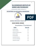 Solid Model Design