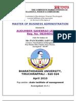 Audumber Jadhwar Final Proje