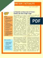 Le Rwanda va mieux sans la France