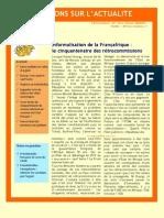 Informalisation de la Françafrique