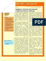 Madagascar, amnistie sans impunité