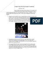 22 Mistakes That Fighters Make With Their Strength 22 Mistakes That Fighters Make With The