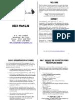 Disaster User Manual