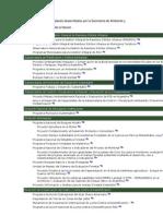 Programas, proyectos y planes de la Secretaría de Ambiente y Desarrollo Sustentable de la Nación