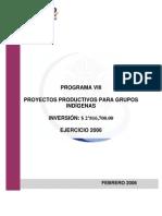 Proyectos Productivos para grupos Indígenas COPILADO POR JULIA BENITEZ
