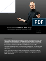 Innovate the Steve Jobs Way