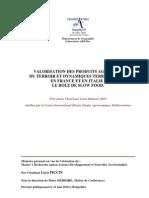 ion Des Produits Agricoles Du Terroir Et Dynamiques Territoriales en France Et en Italie -Le Role de Slow Food