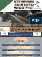 Presentación Disctrict heating Las Navas