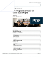 Digital Signs API Programmer Guide v5.2