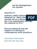Chin Yong Ling - Teleworking