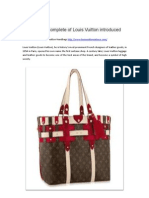 The Most Complete of Louis Vuitton Introduced