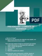 Curso de Prevencion y Combate de Incendio