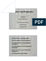 Modern Coal Preparation