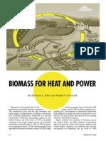 Biomass for Heat Power