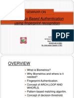 Presentation on Bio-metrics Based Authentication