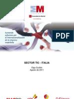 Nota Sectorial TIC en Italia