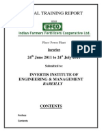 Iffco Trainin Report