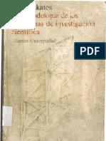 Imre Lakatos - La Metodologia de Los Programas de Investigacion Cientifica
