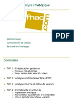 Rapport d Analyse Strategique Fnac