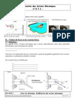 modélisation actions mecanique