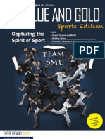 The Blue and Gold - Issue 10 - September 2010