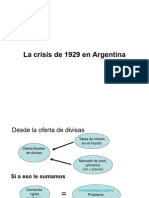 La Crisis de 1929 en Argentina