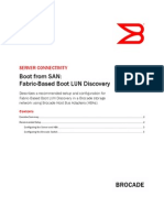 San Boot Fabric Based Boot Lun Discovery Tb