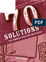 70 Solutions A