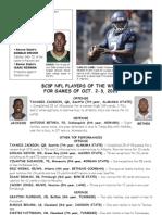 BCSP NFL ProFile - October 4, 2011