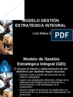 Modelo Gestion Estrategica Integral
