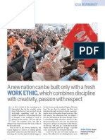 Essay by Subroto Bagchi in India Today's special issue of 6 October 2008