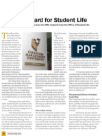 A Step Forward for Student Life - Issue 10 (The Blue and Gold)- September 2010