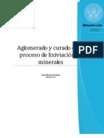 Aglomerado y Curado en El Proceso de Lixiviacion de Minerales