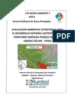 Evaluacion Ambiental Estrategica Tipnis - Sernap