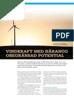 """""""Obegränsad potential för kinesisk vindkraft"""", för ERA"""