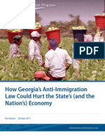 How Georgia's Anti-Immigration Law Could Hurt the State's (and the Nation's) Economy